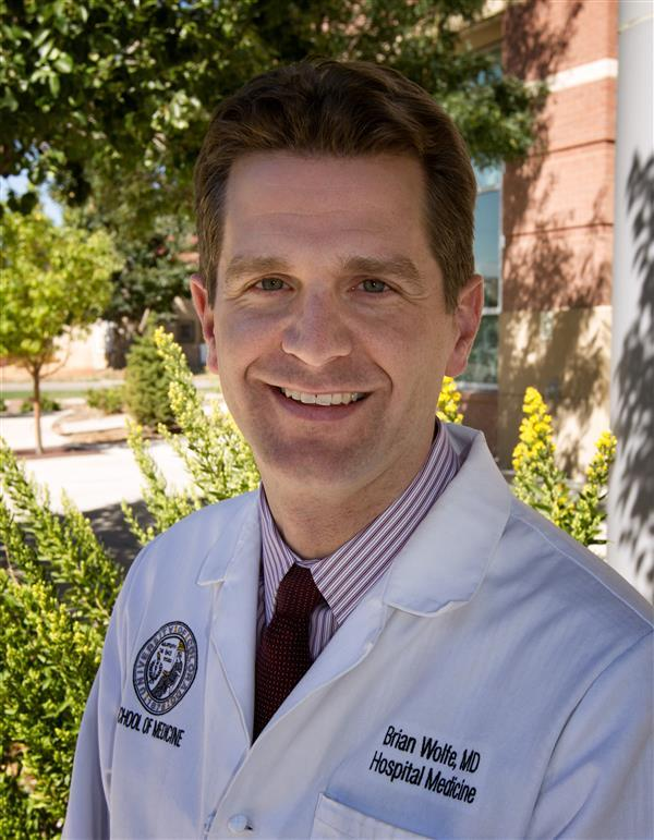 Photo of Brian Wolfe, MD